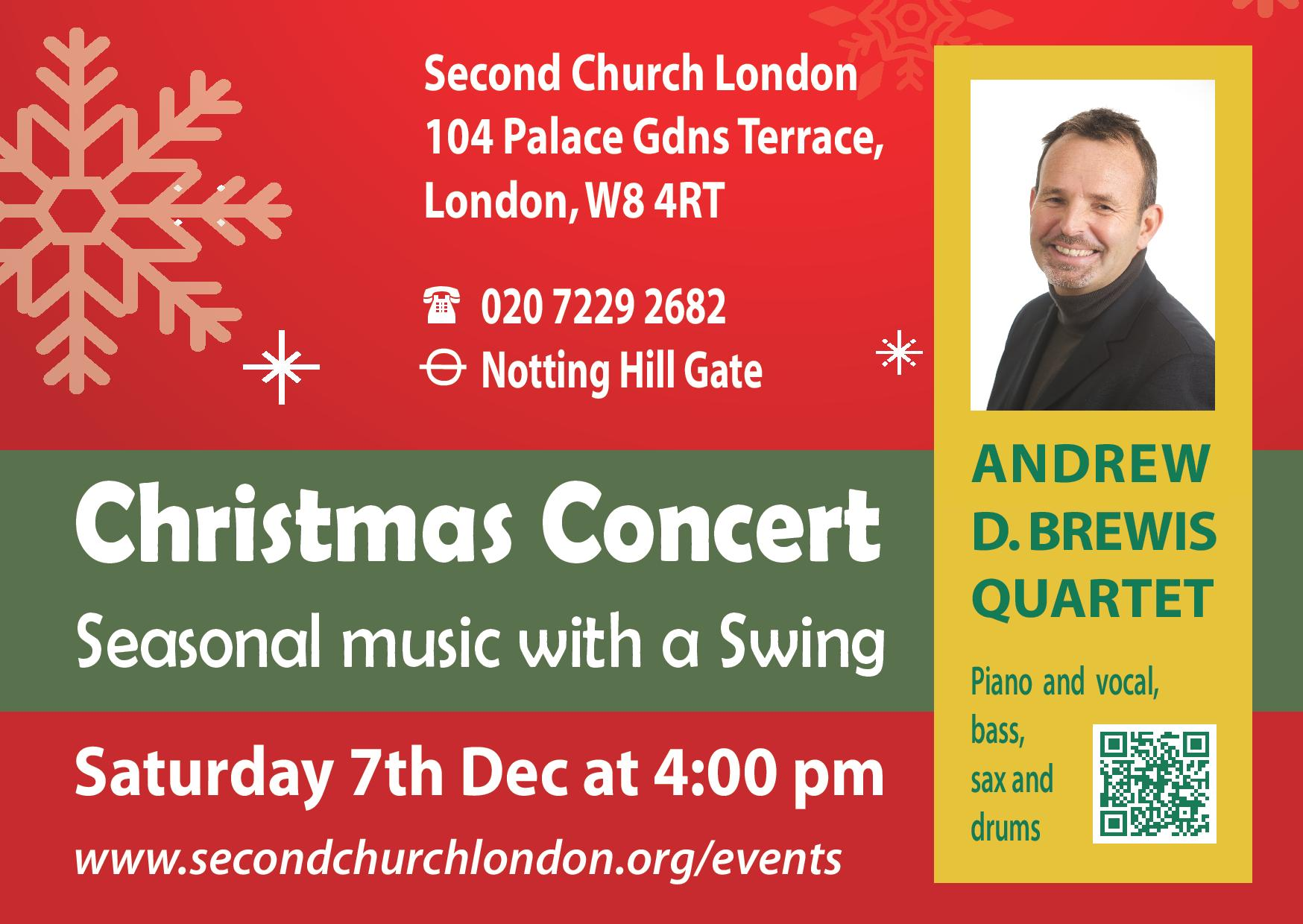 Christmas Concert on Saturday 7th December